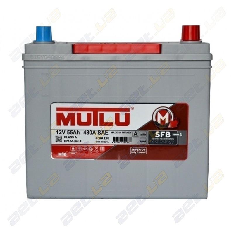 Авто аккумулятор Mutlu SFB 55 R+