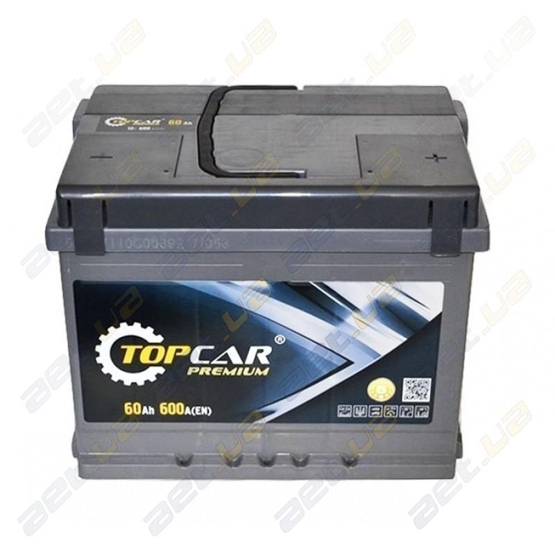 Автомобильные аккумуляторы Top Car Premium 60 Ah