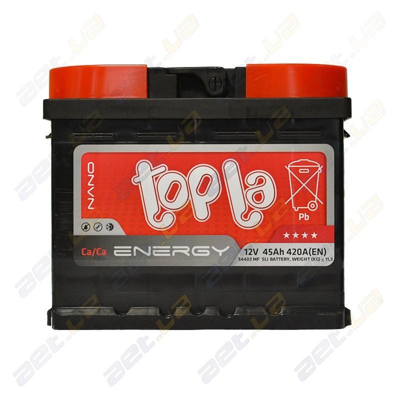 Аккумуляторы автомобильные Topla
