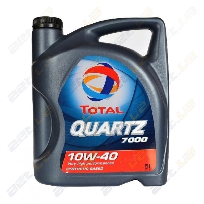 Моторное масло Total Quarz 10w-40