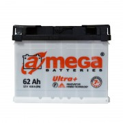 A-Mega ULTRA+ 62Ah R+ 610A