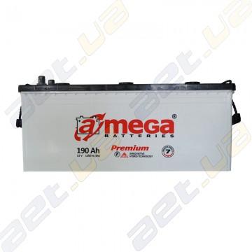 Грузовой аккумулятор A-Mega Premium 190Ah L+ 1200A
