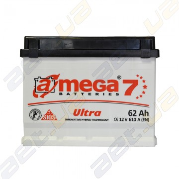 Автомобильный аккумулятор A-Mega Ultra 62Ah R+ 610A
