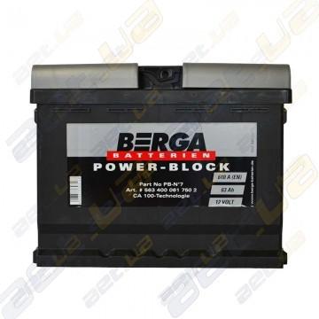 Автомобильный аккумулятор Berga Power 54Ah R+ 530A (EN)