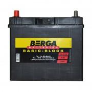 Berga Basic 45Ah JL+ 330A (тонкая клемма)