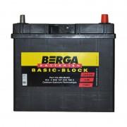 Berga Basic 45Ah JR+ 330A (тонкая клемма)