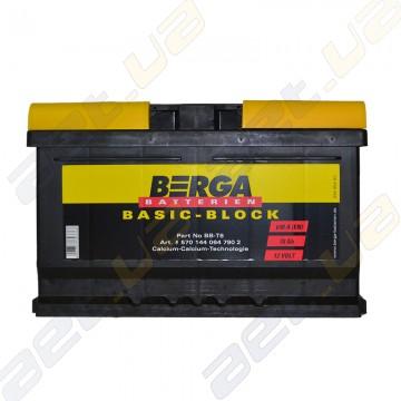 Аккумулятор Berga Basic 70Ah R+ 640A (EN) (низкобазовый)