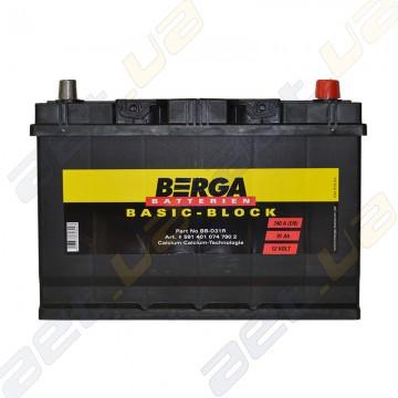 Аккумулятор Berga Basic 95Ah JR+ 830A (EN)