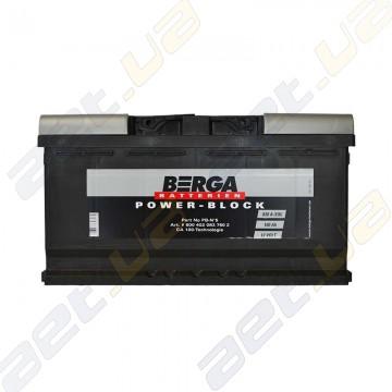 Аккумулятор Berga Power 100Ah R+ 830A (EN)