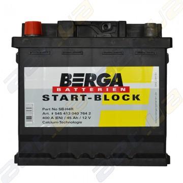 Аккумулятор Berga Start 45Ah L+ 400A