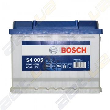Аккумулятор Bosch S4 Silver 60Ah R+ 540A (EN)