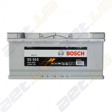 Аккумулятор Bosch S5 Silver Plus 110Ah R+ 920 A (EN)