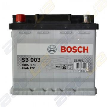 Акумулятор Bosch S3 45Ah L+ 400A (EN)