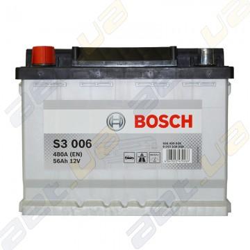 Аккумулятор Bosch S3 56Ah L+ 480A (EN)
