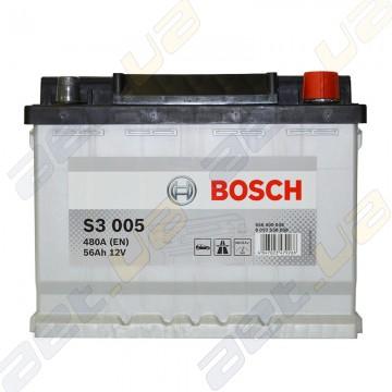 Аккумулятор Bosch S3 56Ah R+ 480A (EN)