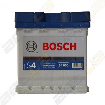 Аккумулятор Bosch S4 42Ah R+ 390A (EN)