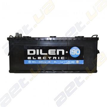 Грузовой аккумулятор Dilen 190Ah L+ 1200A
