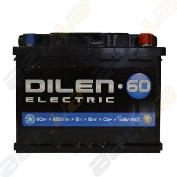 Аккумулятор Dilen 60Ah R+ 450A