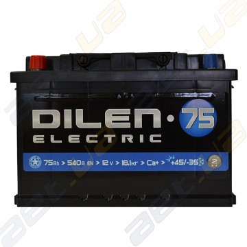 Аккумулятор Dilen 75Ah L+ 540A