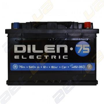 Аккумулятор Dilen 75Ah R+ 540A