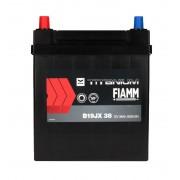 Fiamm Black Titanium 38Ah JL+300A (тонкая клемма)