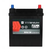 Fiamm Black Titanium 38Ah JR+300A (тонкая клемма)