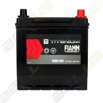 Аккумулятор Fiamm Black Titanium 50AH JR+ 420A