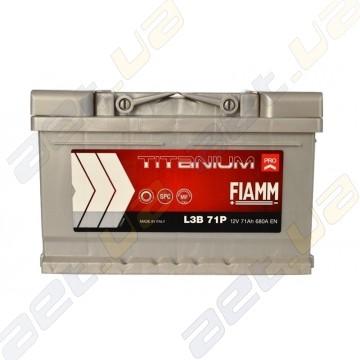 Аккумулятор автомобильный Fiamm Titanium Pro 71Ah R+ 680A (низкобазовый)