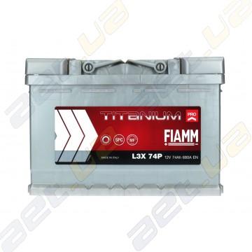 Аккумулятор автомобильный Fiamm Titanium Pro 74Ah L+ 680A