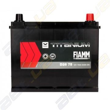 Аккумулятор Fiamm Black Titanium 75AH JR+ 640A