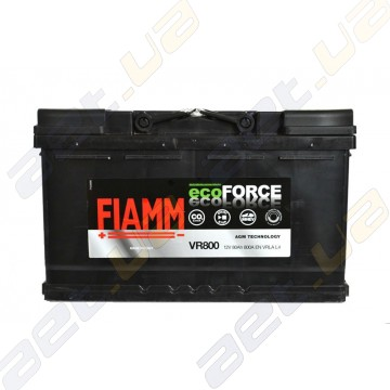 Аккумулятор Fiamm Ecoforce AGM 80Ah R+ 800A (EN)