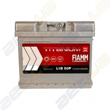 Аккумулятор Fiamm Titanium Pro 50Ah R+ 520A (низкобазовый)