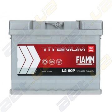 Аккумулятор Fiamm Titanium Pro 60Ah R+ 540A