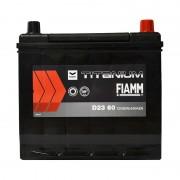 Fiamm Titanium Black 60Ah JR+ 540A