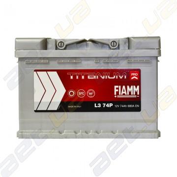 Аккумулятор Fiamm Titanium Pro 74Ah R+ 680A