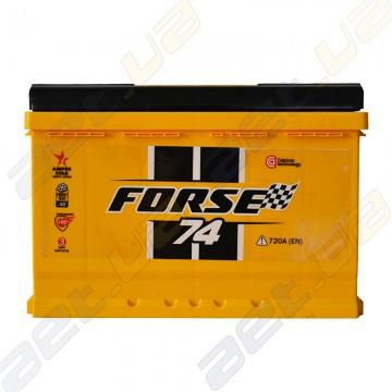 Аккумулятор автомобильный Forse 74Ah L+ 720A