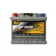 Grom Premium 50Ah L+ 480A (низкобазовый)