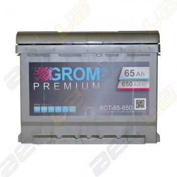 Аккумулятор Grom 65Ah L+ 650A