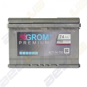 Аккумулятор Grom 74Ah L+ 750A
