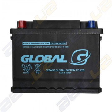 Аккумулятор Global 56217 62Ah L+ 480A