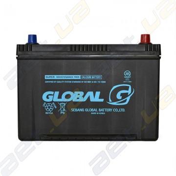 Аккумулятор Global NX120-7L 90Ah JR+ 730A