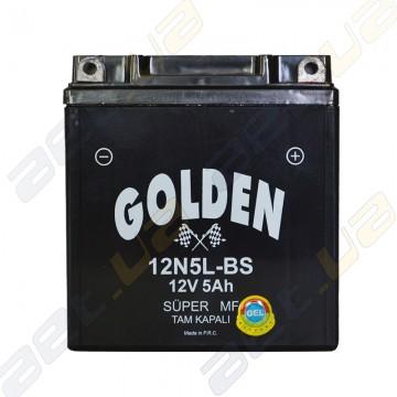 Мото аккумулятор Golden 12N5L-BS 12v 5Ah R+