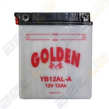 Мото аккумулятор YB12AL-A 12v 12Ah R+