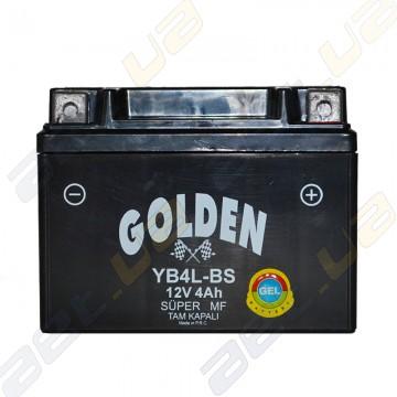 Мото аккумулятор YB4L-BS 12v 4Ah R+