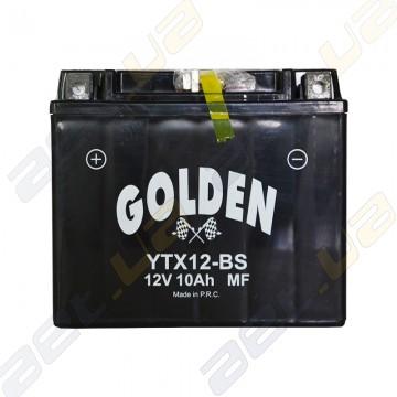 Мото аккумулятор Golden YTX12-BS 12v 10Ah L+