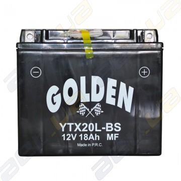 Мото аккумулятор Golden YTX20L-BS 12v 18Ah R+