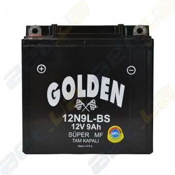 Мото аккумулятор Golden 12N9L-BS 12v 9Ah L+