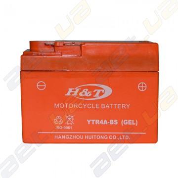 Мото аккумулятор H&T YTR4A-BS 12v 2.3Ah R+