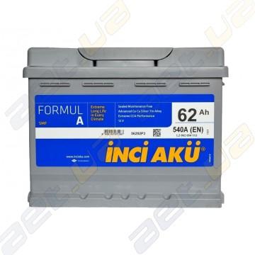 Аккумулятор INCI-AKU Formul A 62Ah L+ 540A