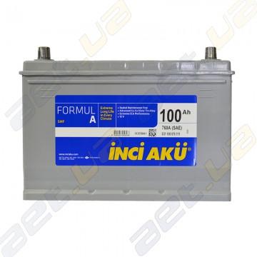 Аккумулятор INCI-AKU Formul A 100Ah JR+ 760A